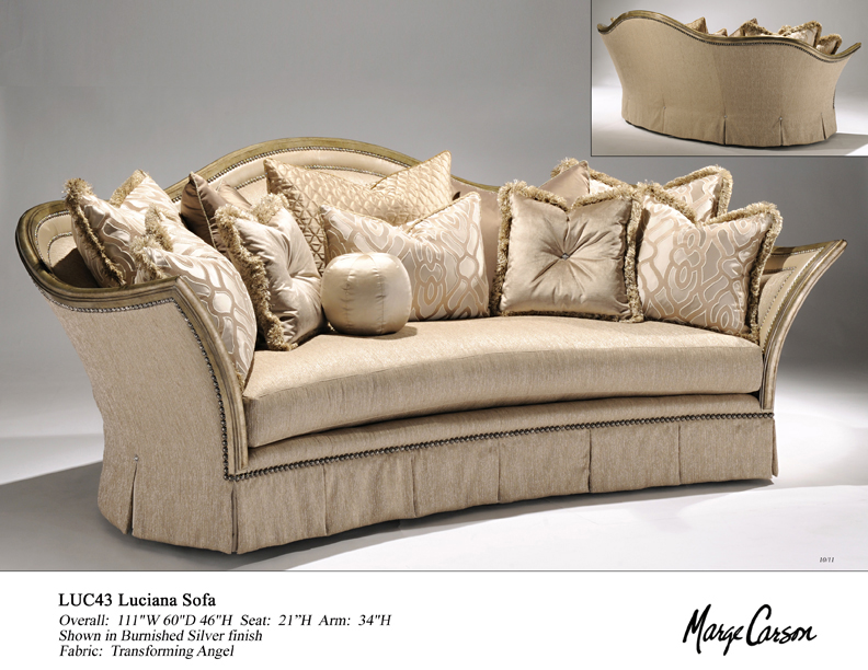 Marge Carson Bentley Sofa Hpricot Com : marge carson bentley sectional - Sectionals, Sofas & Couches