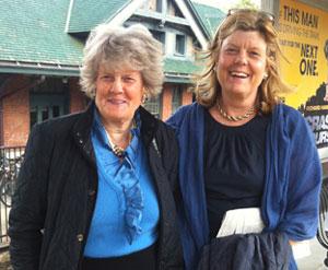 Sister Parish and Susan Crater of Sister Parish Design
