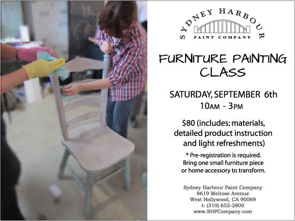 Furniture Painting Invite