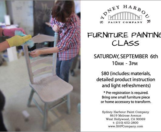 sydey harbour paint class