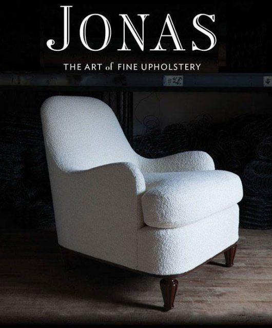Jonas The Art of Fine Upholstery Book