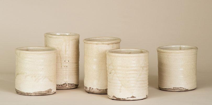 Rose Tarlow Creme Pots
