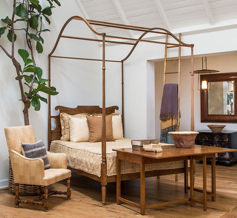 Rose Tarlow Four Poster Bed
