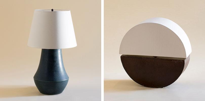 Rose Tarlow Raffles and Penny Lane Table Lamps