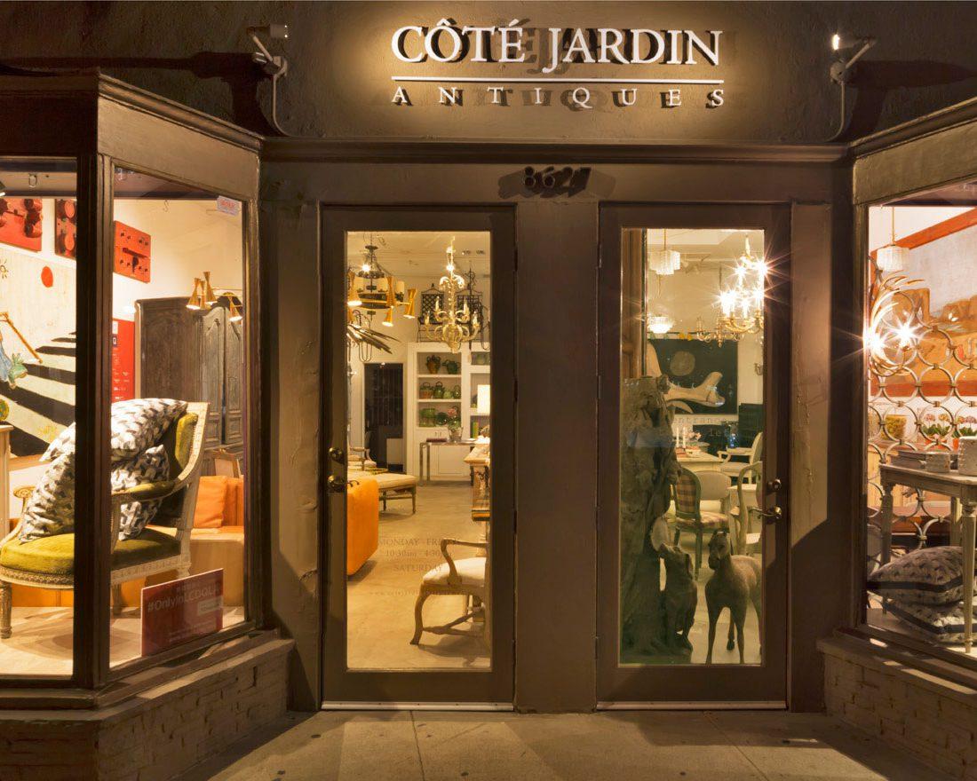 Cote Jardin Antiques by Brian Paquette
