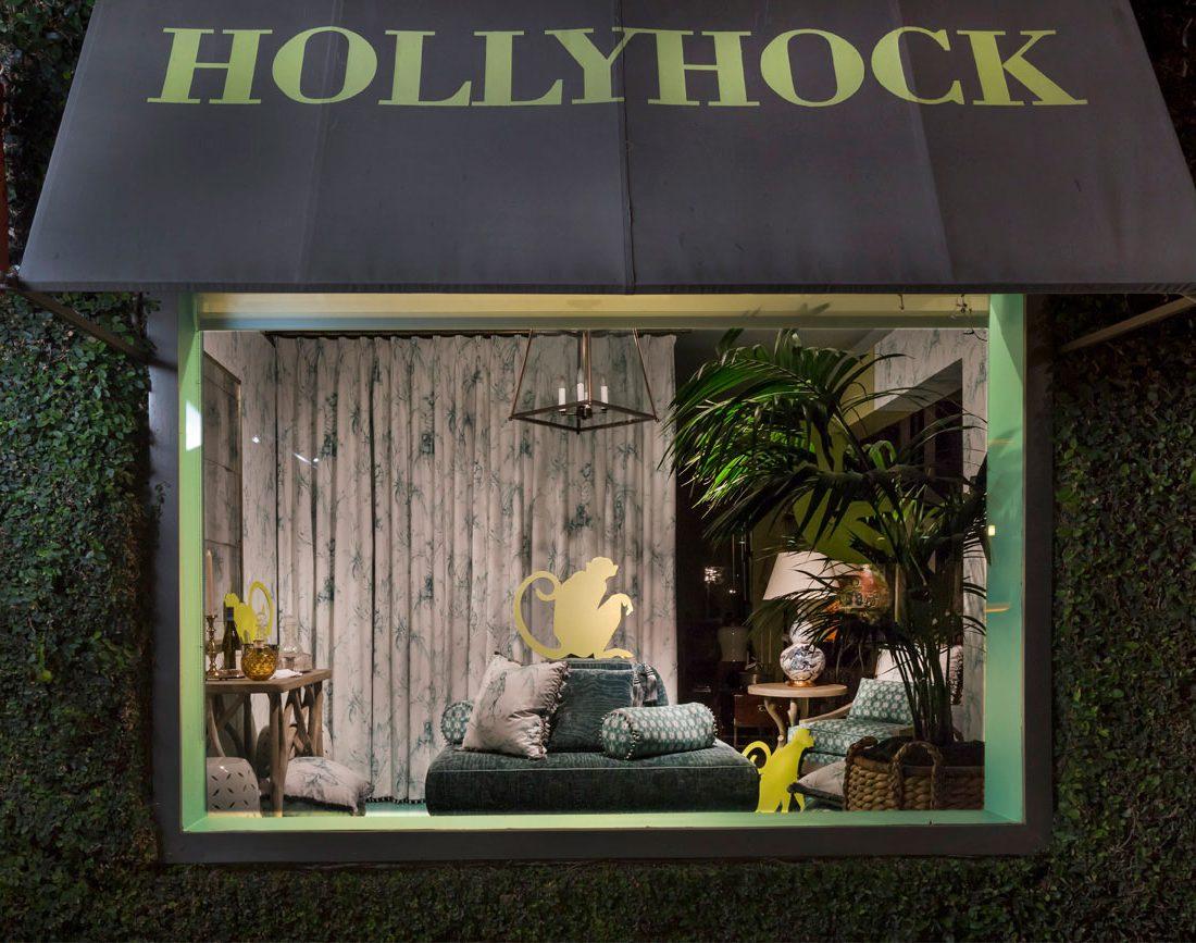 Hollyhock by Nina Campbell