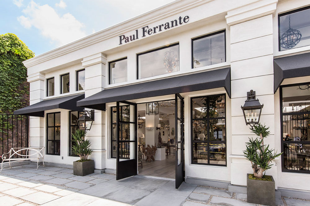 Paul Ferrante Showroom Exterior