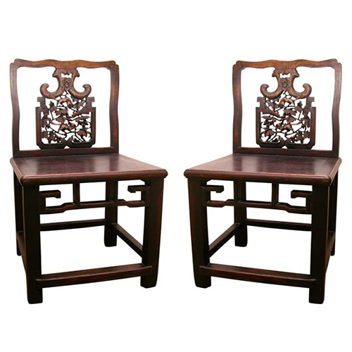 Downtown Handcarved Chinese Chairs