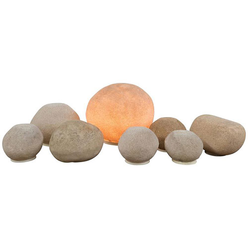 Hollywood at Home Cazenave Rock Lamp Dora Stone Series for Atelier A