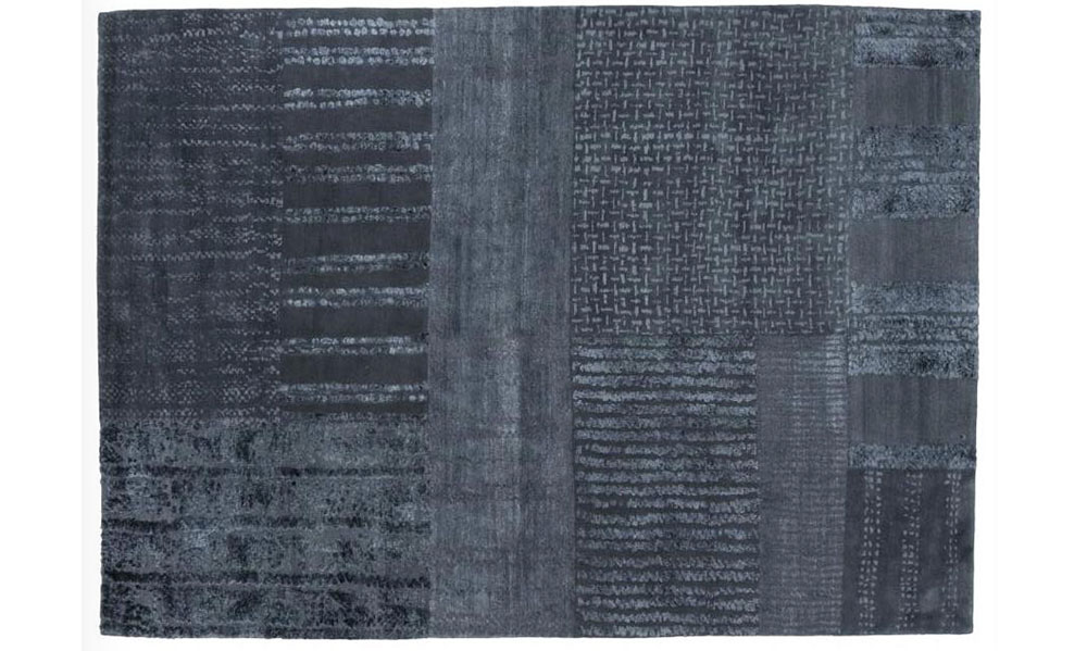 Woven Noah Rug in Midnight