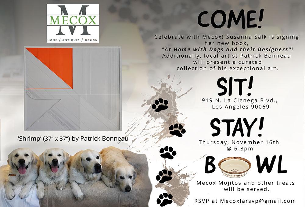 Mecox LCDQ Dog Invite