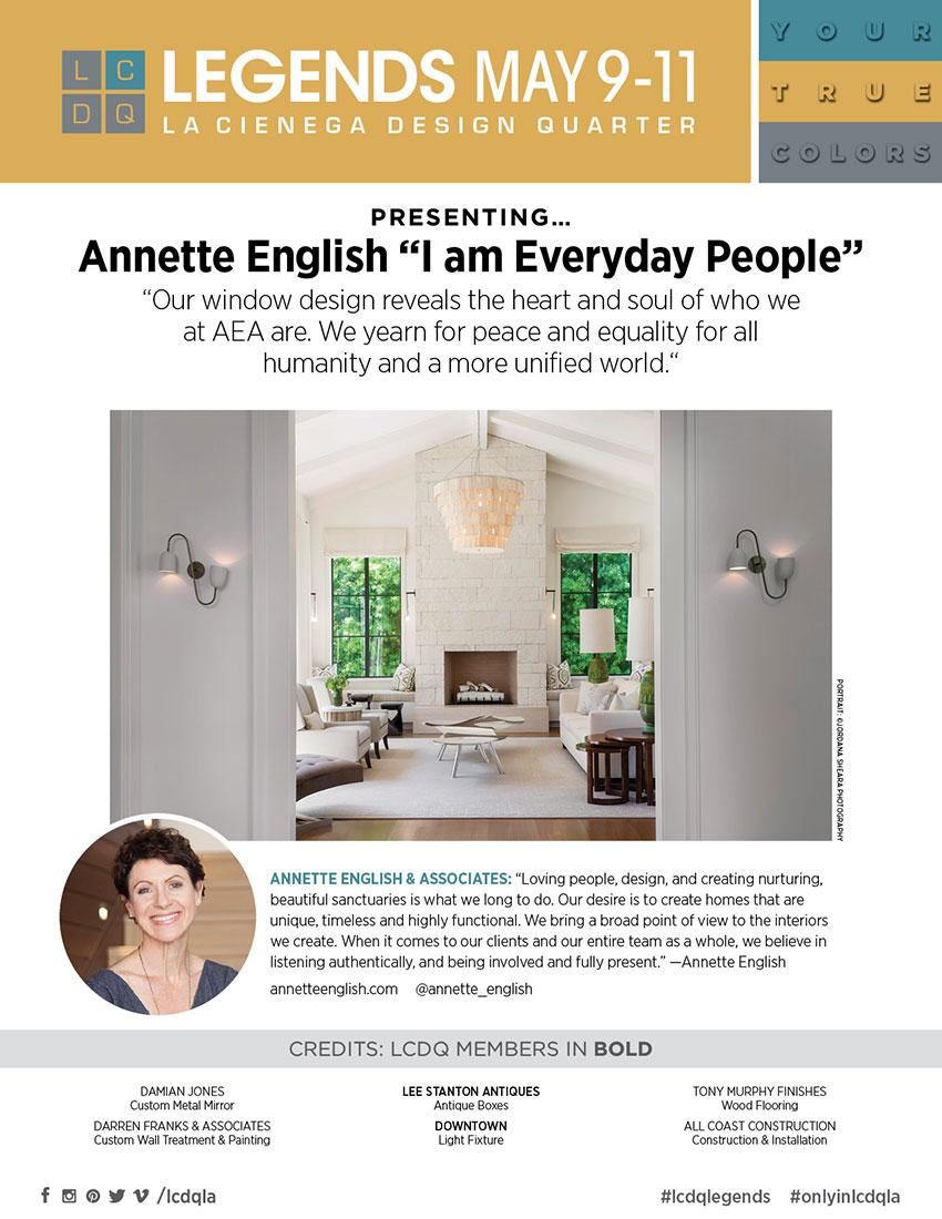 ANNETTE ENGLISH