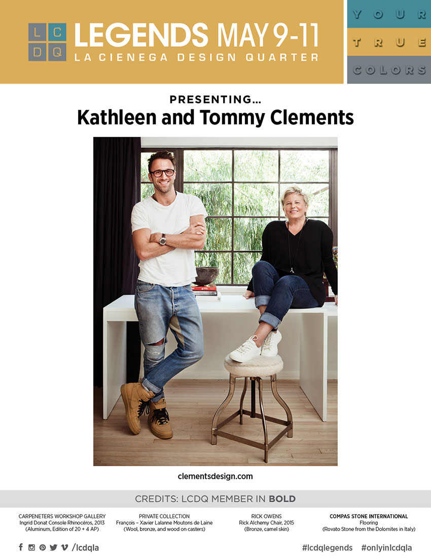 KATHLEEN AND TOMMY CLEMENTS