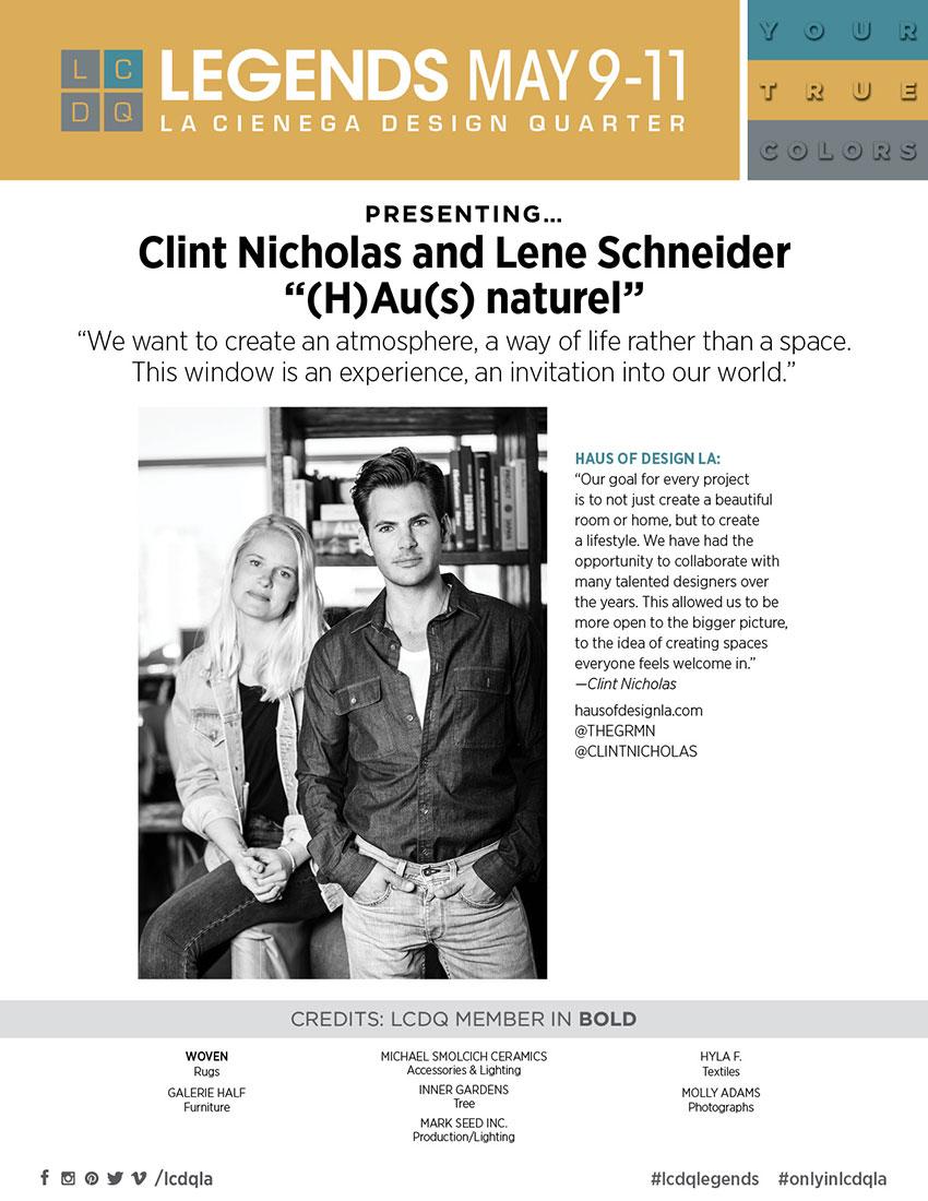 NICHOLAS AND SCHNEIDER-FROM-HAUS