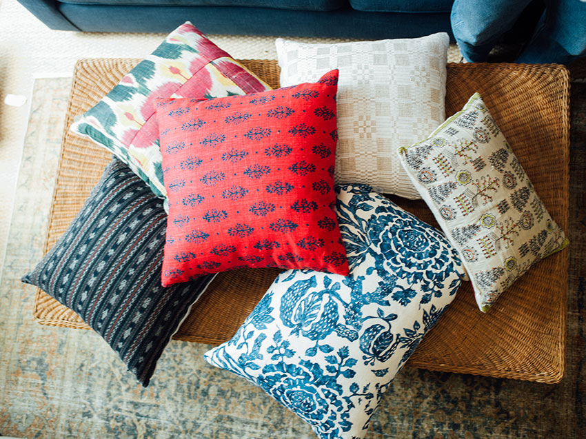 Hollywood at Home pillows