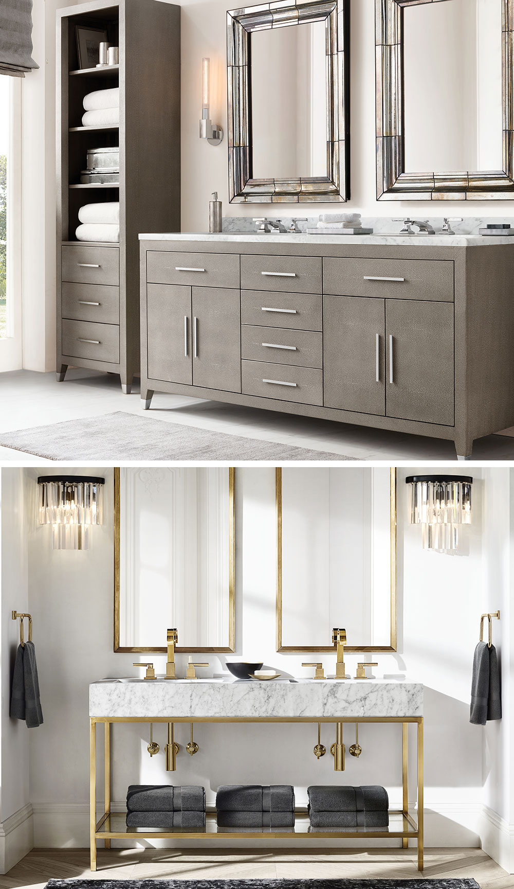 Restoration Hardware Baths