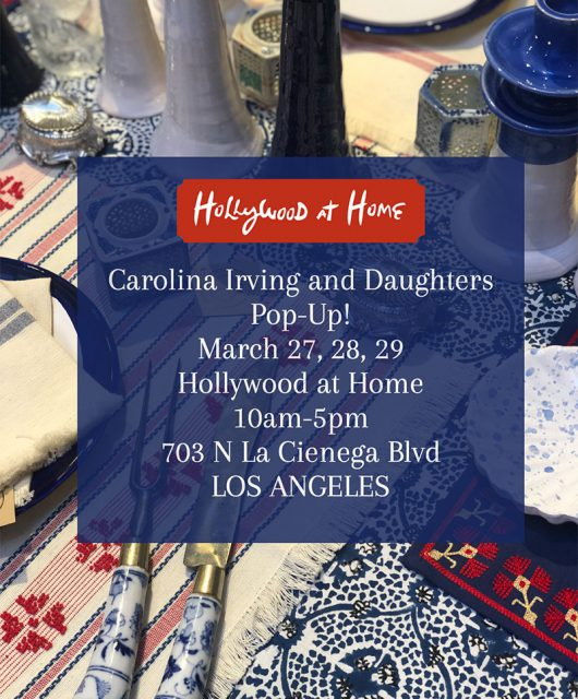 Carolina Irving and Daughters Pop-Up