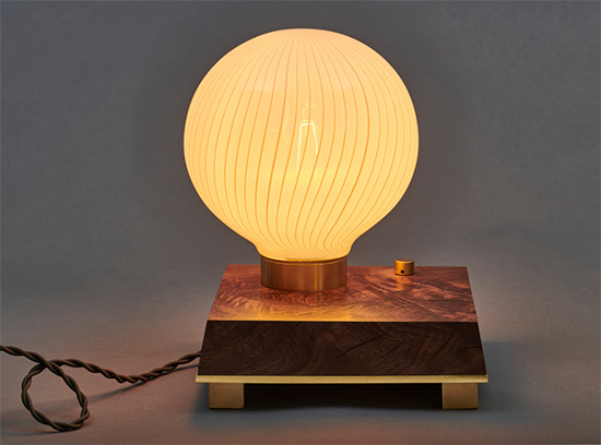 Atlas Desk Lamp, designed by Joseph Pagano at Una Malan